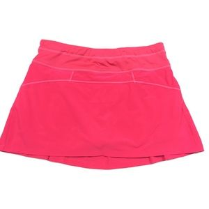 Athleta Runaround skort pink XS
